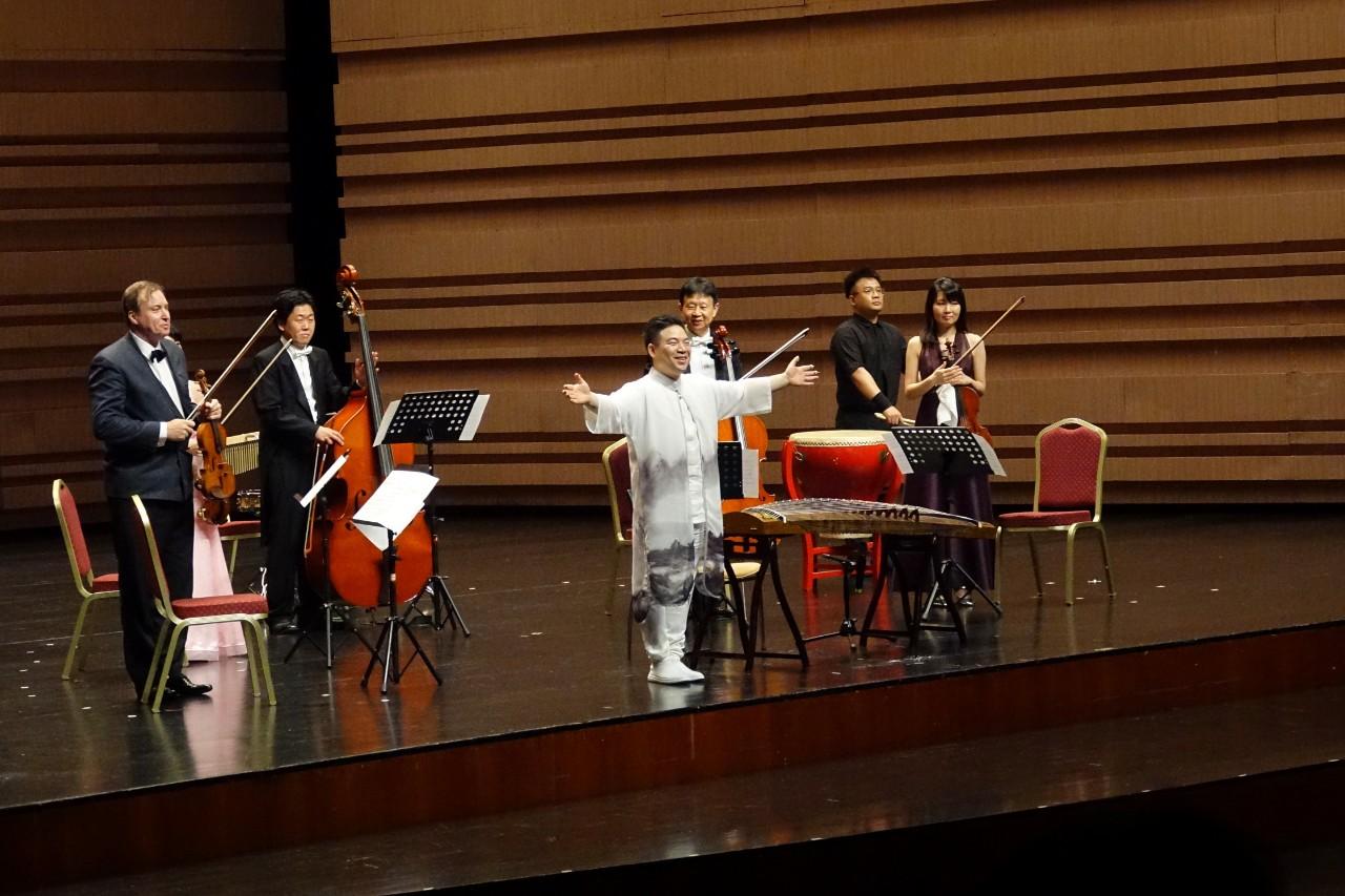 王中山古箏與東京SKY重奏團演奏會(寧波站) 視頻分享